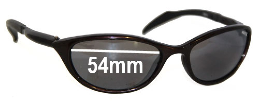 Red X 8009 Replacement Sunglass Lenses - 54mm Wide