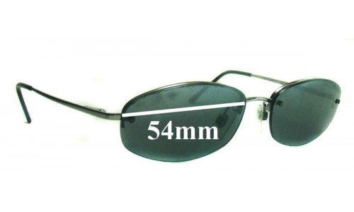 Revo 3034 Replacement Sunglass Lenses - 54mm Wide