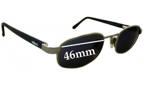 Revo RE1112 Replacement Sunglass Lenses - 46mm Wide
