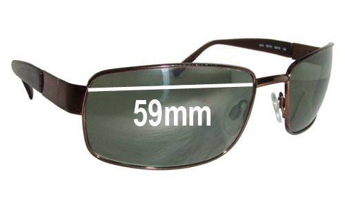 Revo RE3043 Replacement Sunglass Lenses - 59MM WIDE