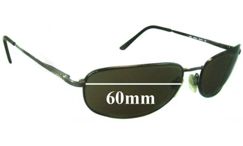Revo 3063 Replacement Sunglass Lenses - 60mm wide