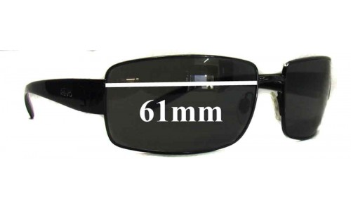 Revo 3077 Replacement Sunglass Lenses - 61mm