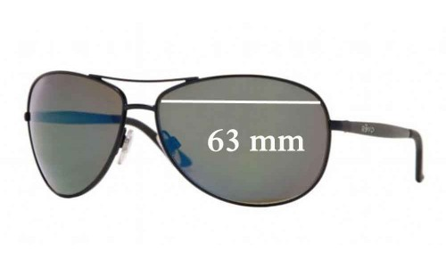Revo 3078 Replacement Sunglass Lenses - 63mm wide