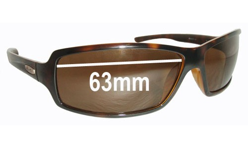 Revo RE4037 Thrive Replacement Sunglass Lenses - 63mm Wide Lenses