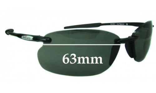 Revo 4045 Cutbank Replacement Sunglass Lenses - 63mm wide