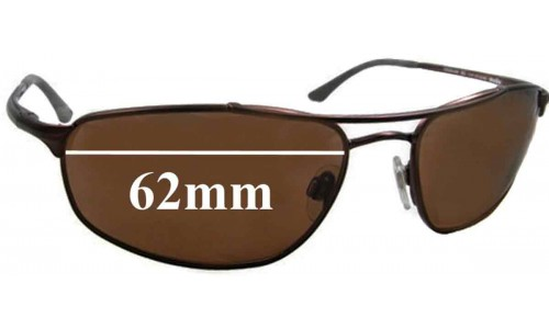 Revo 3060 Replacement Sunglass Lenses - 62mm Wide