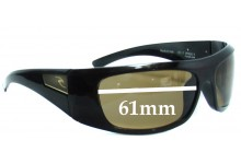 Rip Curl Bells Replacement Sunglass Lenses  - 61mm wide
