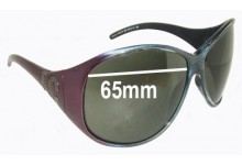 Roberto Cavalli Atteone RC315 Replacement Sunglass Lenses - 65mm wide