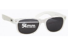 Roc 800W Pilot Replacement Sunglass Lenses -  54mm Wide Lenses