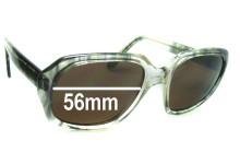 Rodenstock John Replacement Sunglass Lenses - 56mm Wide