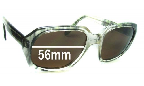 Rodenstock John Replacement Sunglass Lenses - 56mm Wide