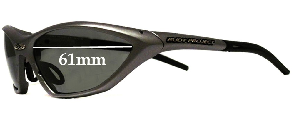 rudy project sunglasses  Project Ekynox SX Replacement Sunglass Lenses - 61mm Wide