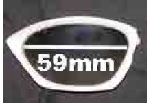 Rudy Project Horus Replacement Sunglass Lenses - 59mm Wide