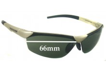Rudy Project Hyde Replacement Sunglass Lenses - 66mm wide
