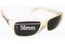 Rudy Project Ultimatum Replacement Sunglass Lenses - 58mm wide