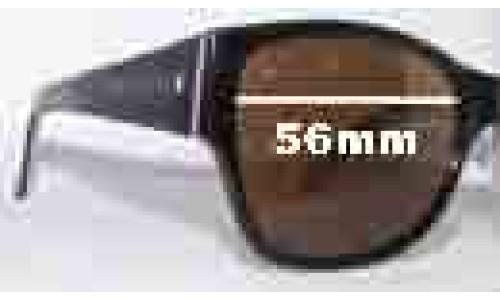 Saba Cruz Replacement Sunglass Lenses - 56mm Wide