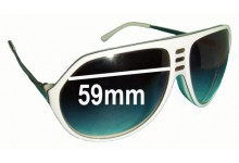 Sabre Crue Replacement Sunglass Lenses - 59mm wide