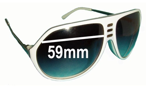 Sabre Crue Replacement Sunglass Lenses - 59mm wide