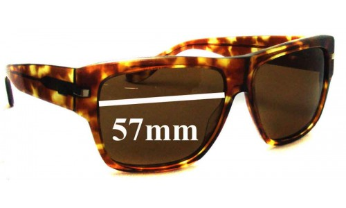 Sabre No Control Replacement Sunglass Lenses - 57mm Wide