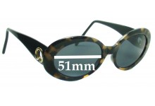ST JOHN S 500 Replacement Sunglass Lenses - 51mm Wide