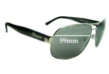 Salvatore Ferragamo 1185 New Sunglass Lenses - 59mm Lenses