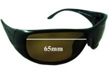 Sunglass Fix Replacement Lenses for Serengeti Larino - 65mm wide