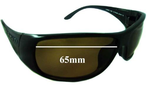 Serengeti Larino 7390 Replacement Sunglass Lenses - 65mm wide