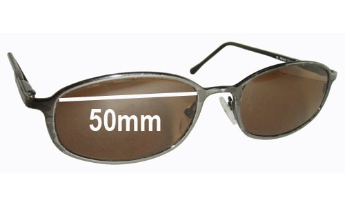 Serengeti Unknown Replacement Sunglass Lenses - 50mm Wide