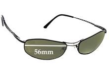Sunglass Fix Replacement Lenses for Serengeti Via Veneto - 56mm Wide