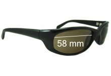 Sunglass Fix Replacement Lenses for Serengeti Bromo - 57.5 - 58mm wide
