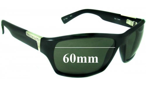 Serengeti Gio New Sunglass Lenses - 60mm Wide