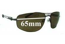 Sunglass Fix Replacement Lenses for Serengeti Augusto - 63mm wide