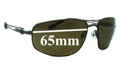Serengeti Augusto 7117 All Models Replacement Sunglass Lenses- 65mm wide