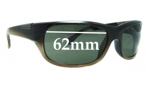 Serengeti Trento Replacement Sunglass Lenses - 62mm Wide
