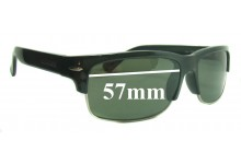 Sunglass Fix Replacement Lenses for Serengeti Vasio - 57mm wide