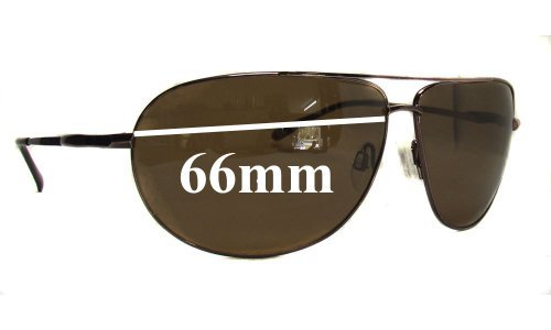 Serengeti Salto Replacement Sunglass Lenses - 66mm Wide