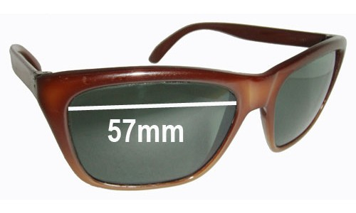 Ski Optics Royal Replacement Sunglass Lenses - 57mm Wide