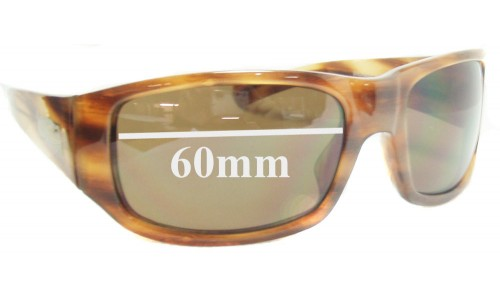 Smith Bauhaus Replacement Sunglass Lenses - 59mm-60mm wide