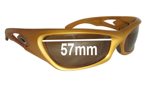 Smith Folsom Replacement Sunglass Lenses - 57mm wide