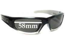 Smith Hudson Replacement Sunglass Lenses - 58mm wide