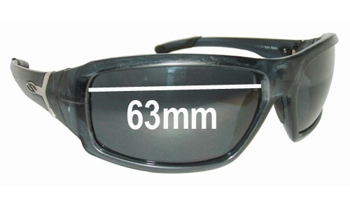 Smith Interlock Spoiler Replacement Sunglass Lenses - 63mm wide