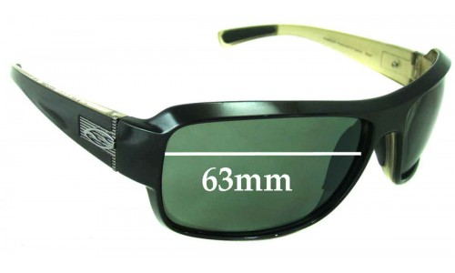 Smith - Evolve Rambler Replacement Sunglass Lenses 63mm wide