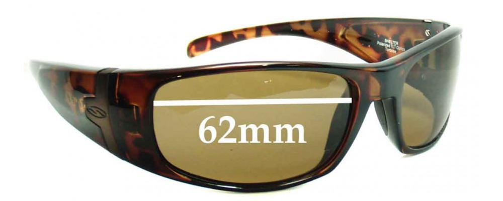 7ad892a8a3454 Smith Shelter Replacement Sunglass Lenses - 62mm wide