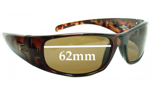 Smith Shelter New Sunglass Lenses - 62mm wide