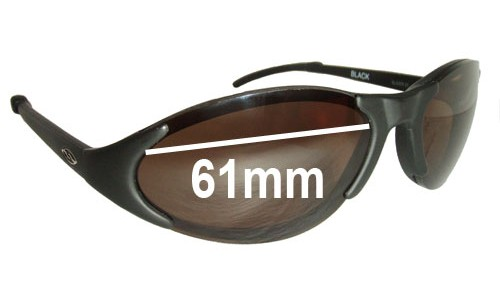Smith Slider 01 Replacement Sunglass Lenses - 61mm wide