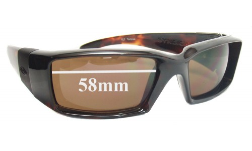 Smith Syndicate Replacement Sunglass Lenses 58mm