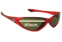 Smith Voodoo Replacement Sunglass Lenses - 60mm wide