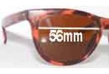 Sport Optics Reef Replacement Sunglass Lenses - 56mm Wide