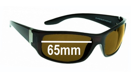 Spotters Cruise Replacement Sunglass Lenses - 65mm wide