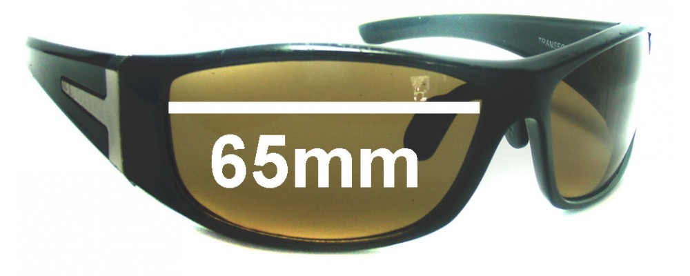 69f65388d8b6 Spotters Transformer Replacement Sunglass Lenses - 65mm Wide